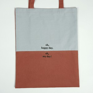 [Bag] oh, happy day. oh, my day! _ pale blue&orange