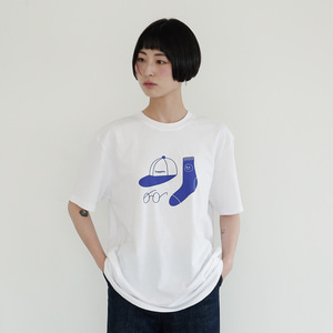 [Apparel] O,LD! blue socks T