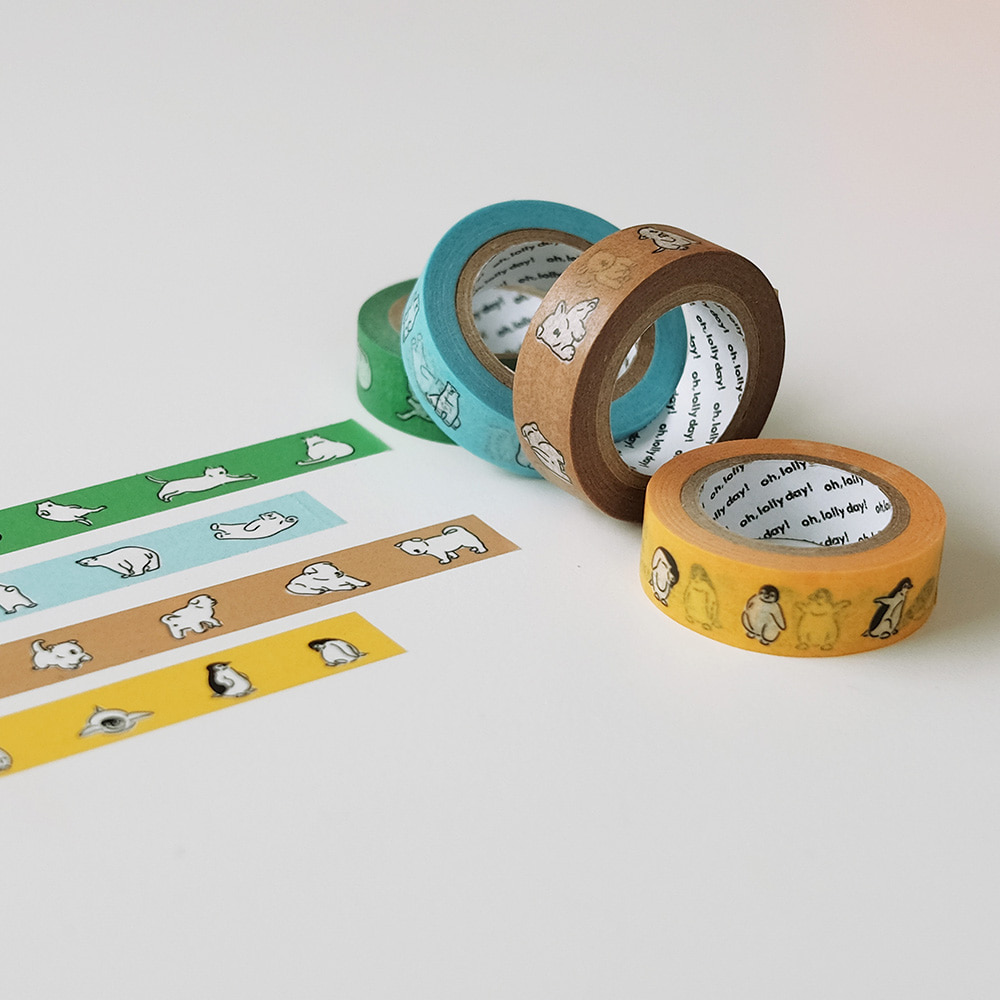 [Masking tape] OH, MA TE!_05_Animals
