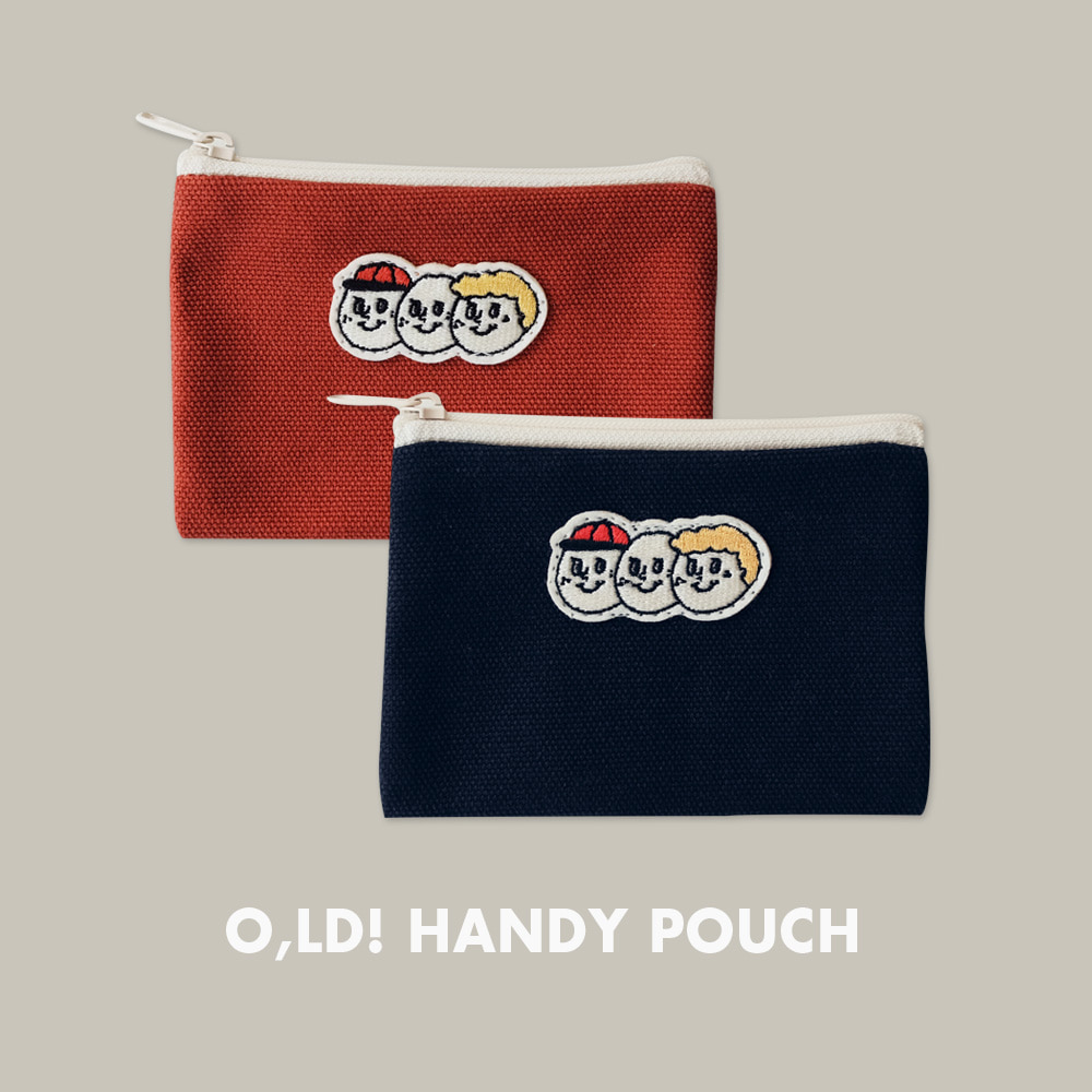 [Pouch] Handy pouch_Canvas