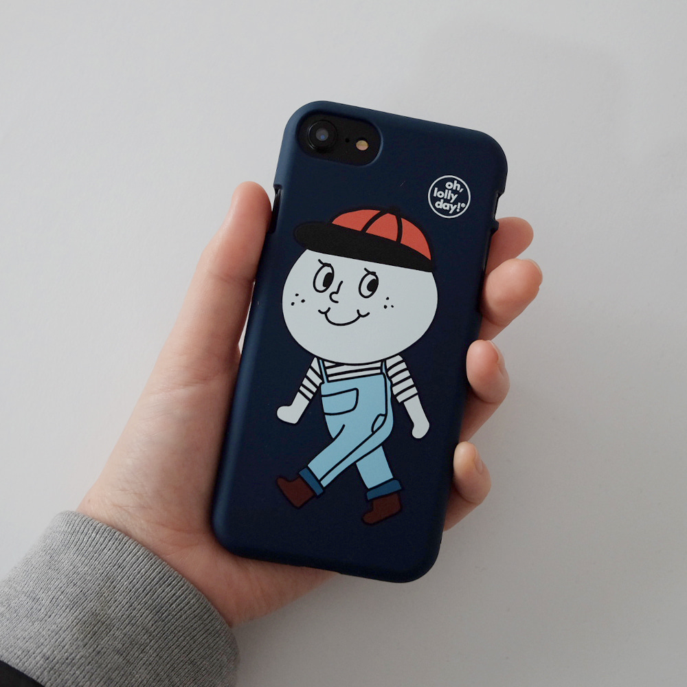 [Phone case] Overalls Mascot_Color jelly