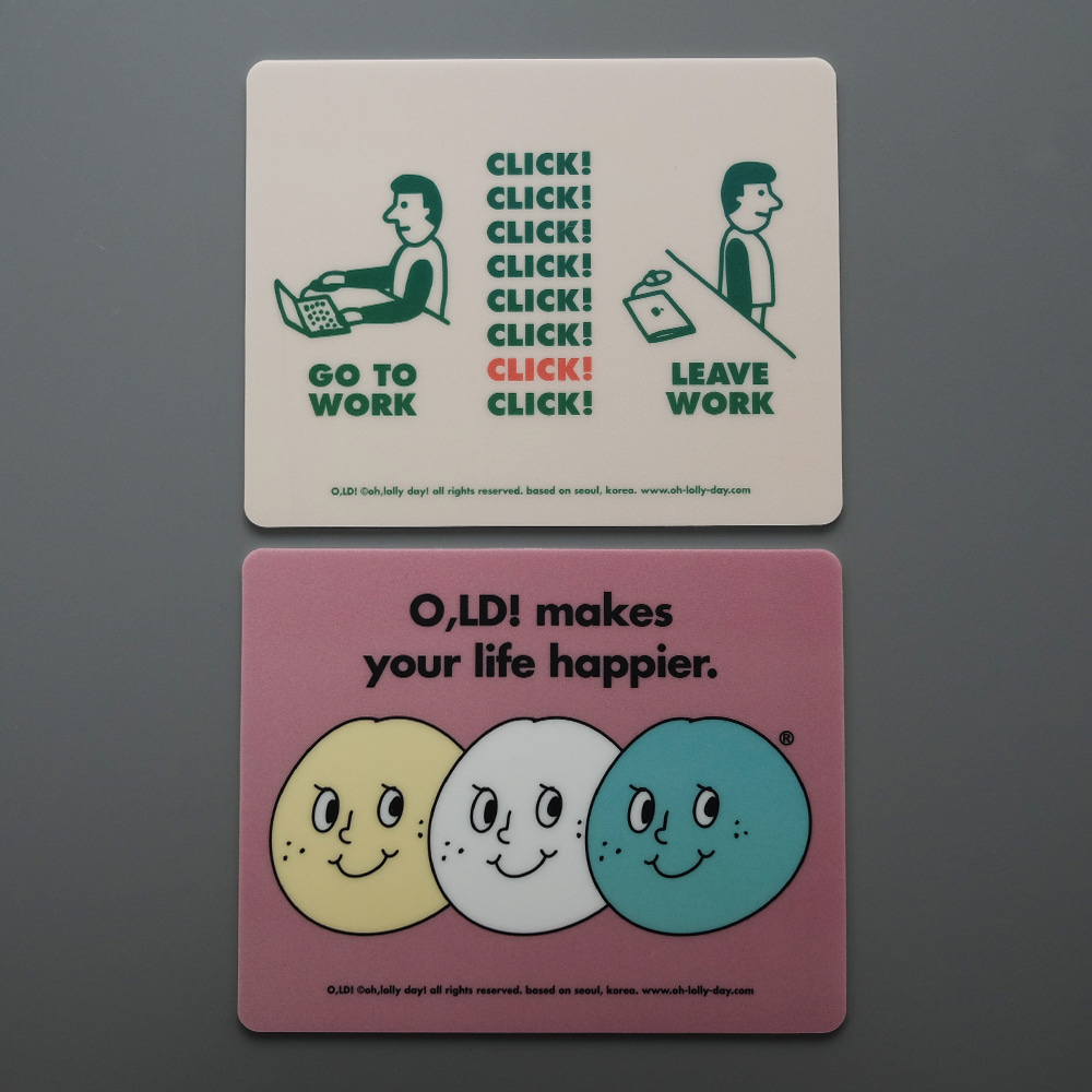 [Mouse pad] O,LD! Mouse pad