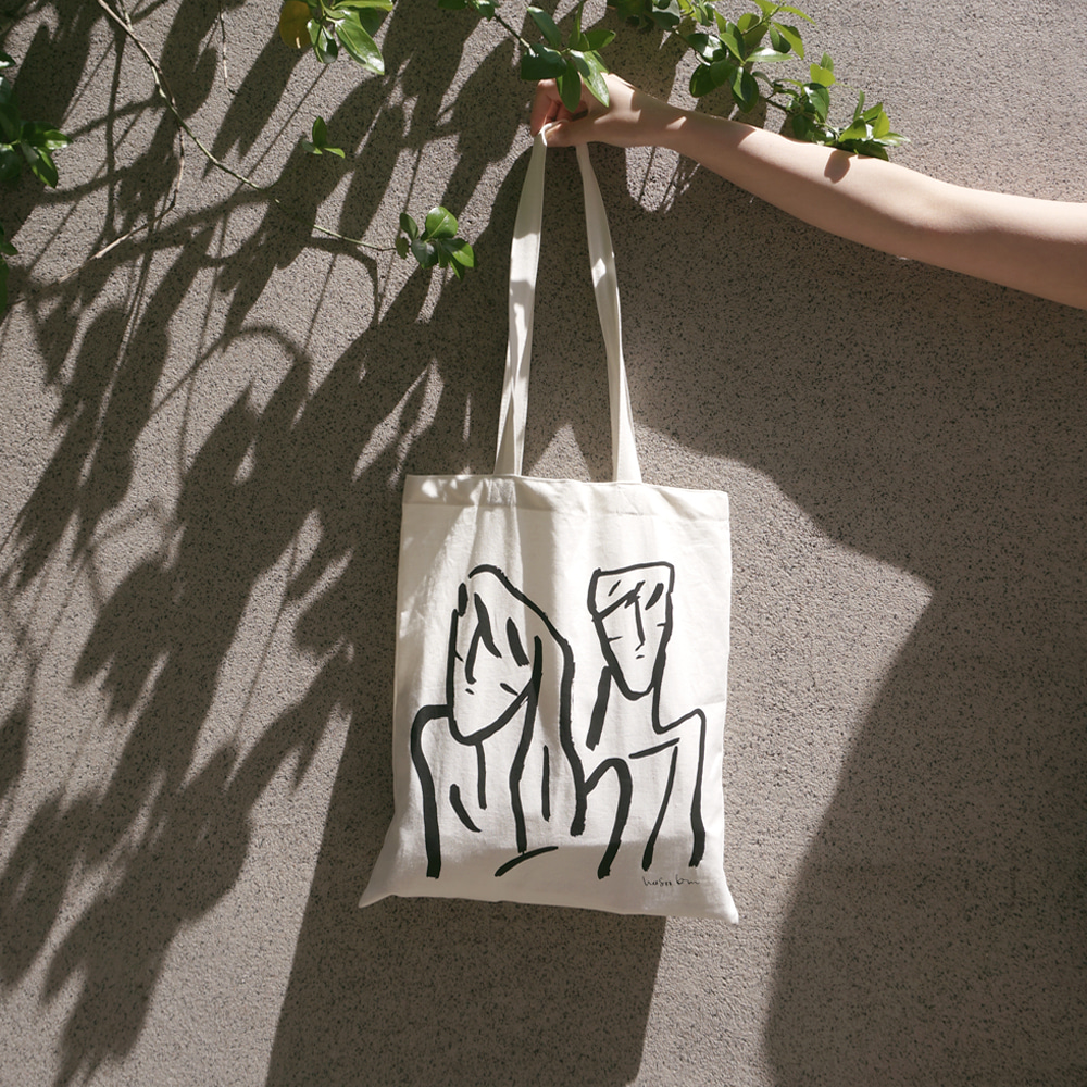 [O,LD! X Heesookim] Cotton bag