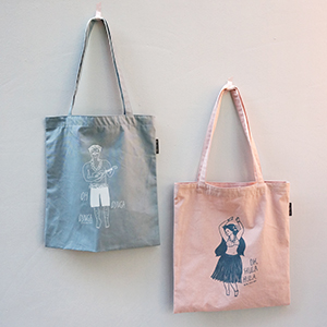 [Bag] Hula & Dinga cotton bag